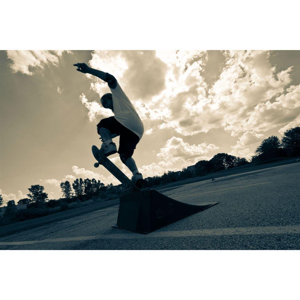 SKA-RAM 12 High Skateboard Launch Ramp 4