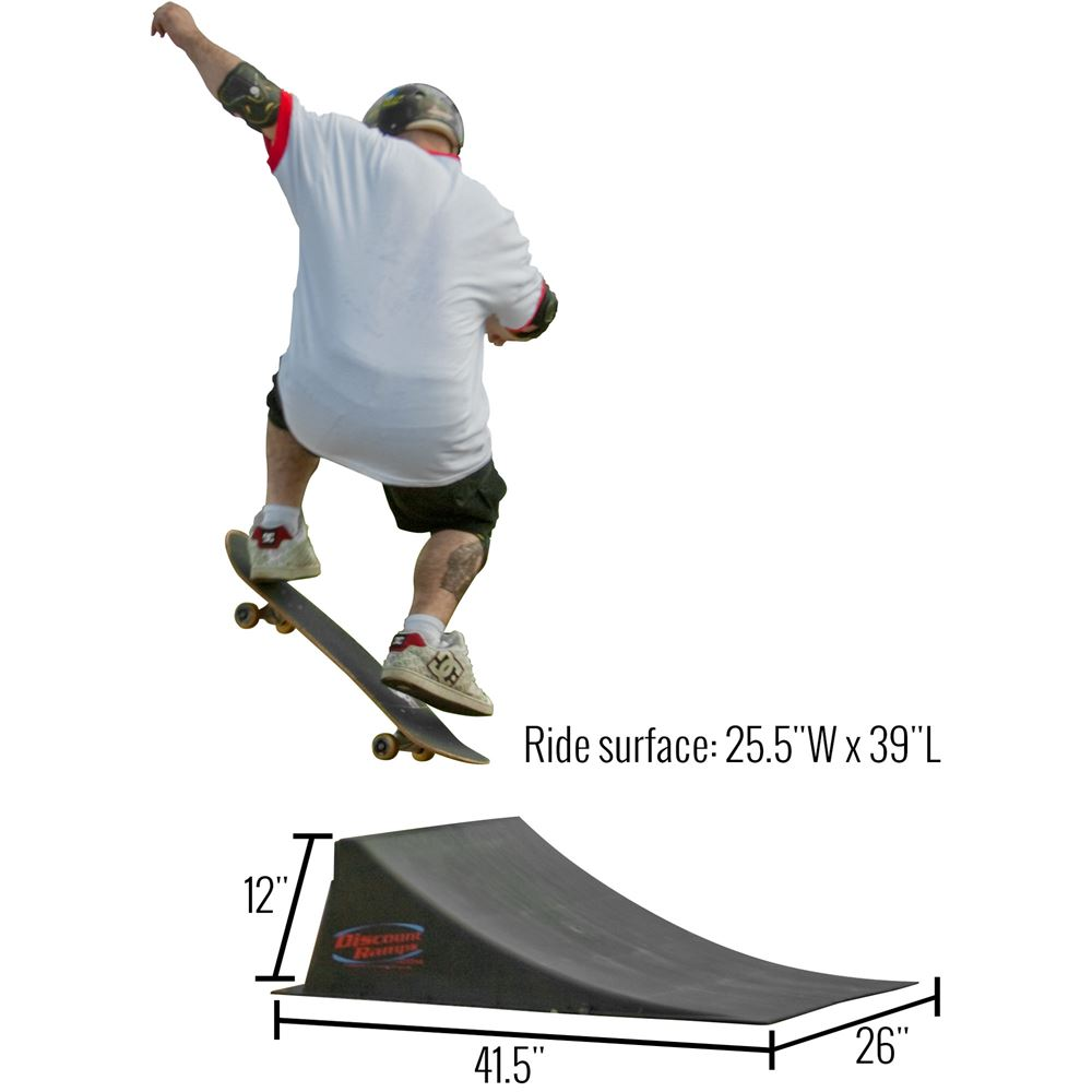 SKA-RAM 12 High Skateboard Launch Ramp 6