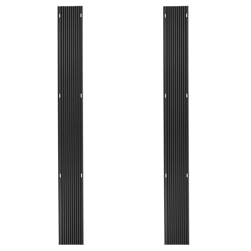 SKI-G60-2 5 L Black Ice Snowmobile Ski Guides - 2 pack