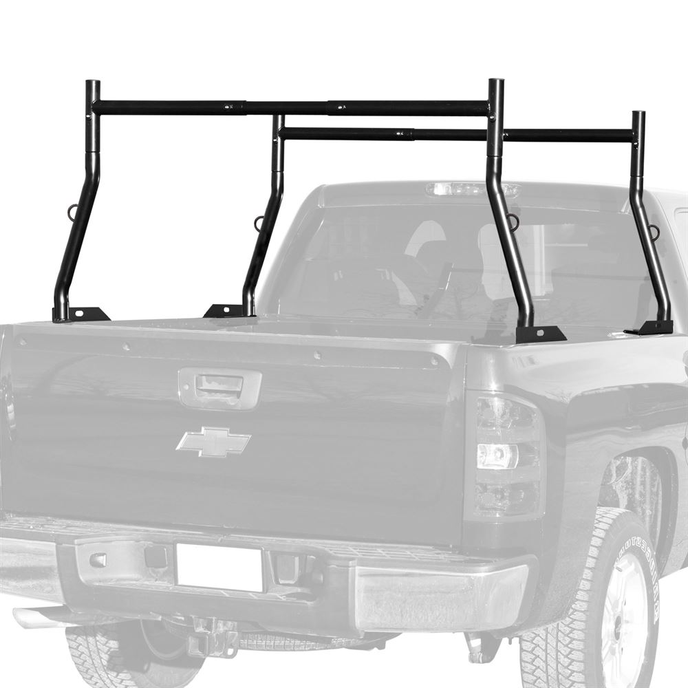 SLR-RACK-DLX-ALUM Elevate Outdoor Aluminum Universal Utility Truck Rack