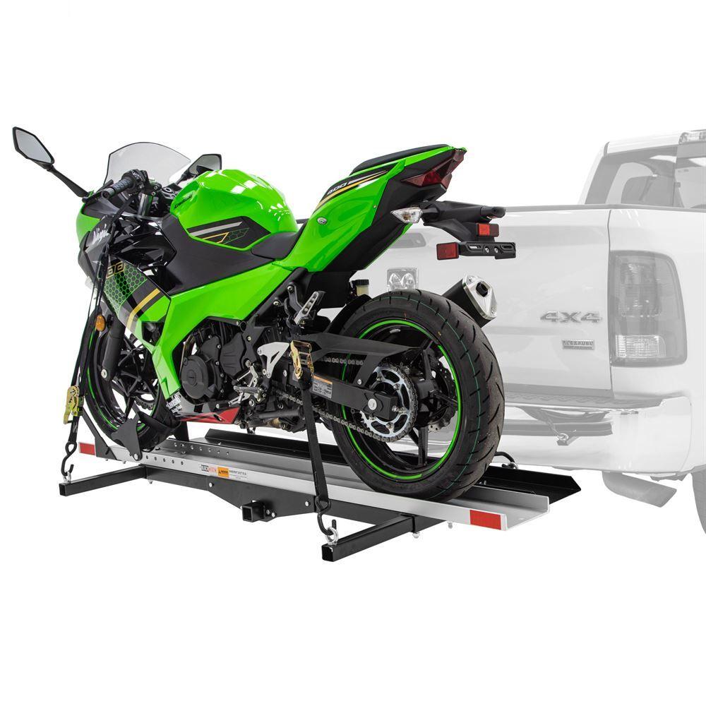 Smc 600r Black Widow Steel Deluxe Motorcycle Carrier 600 Lb Capacity