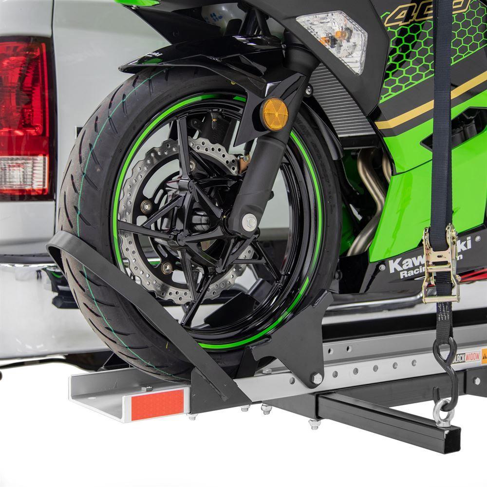 SMC-600R Black Widow Steel Deluxe Motorcycle Carrier  600 lb Capacity 6