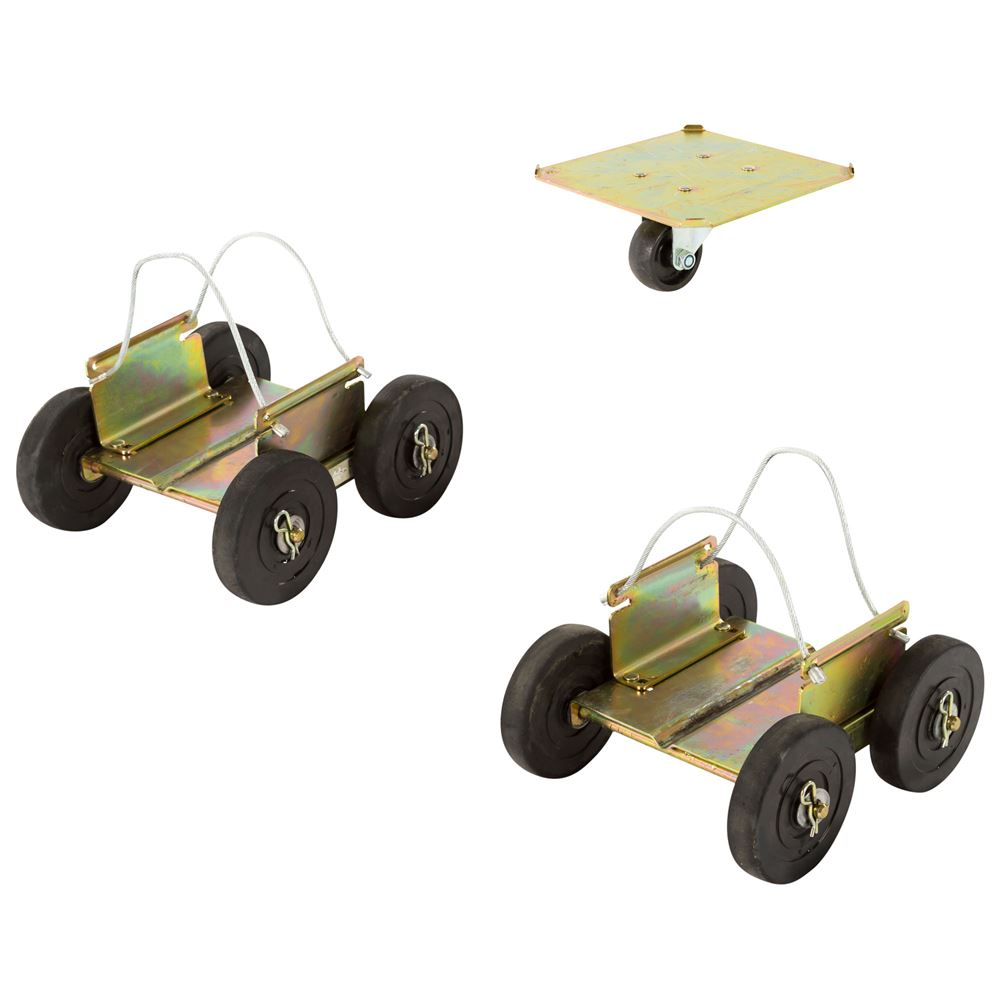 SMDOLLY Black Ice Drivable Snowmobile Dolly