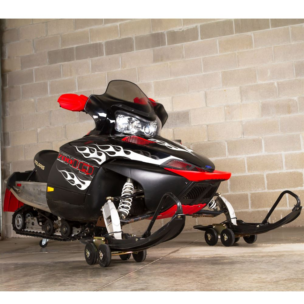 SMDOLLY Black Ice Drivable Snowmobile Dolly 1