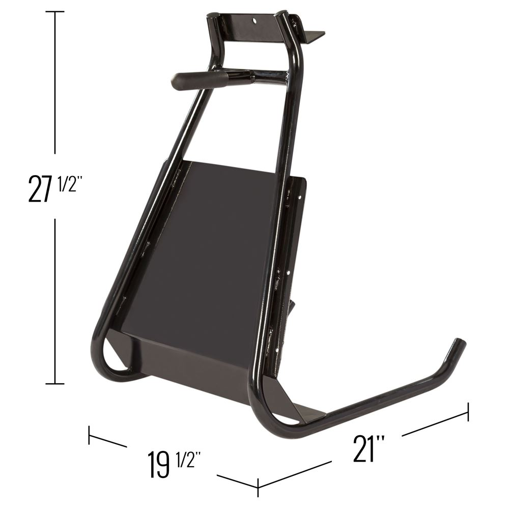 SMS27 Black Ice Snowmobile Stand 2