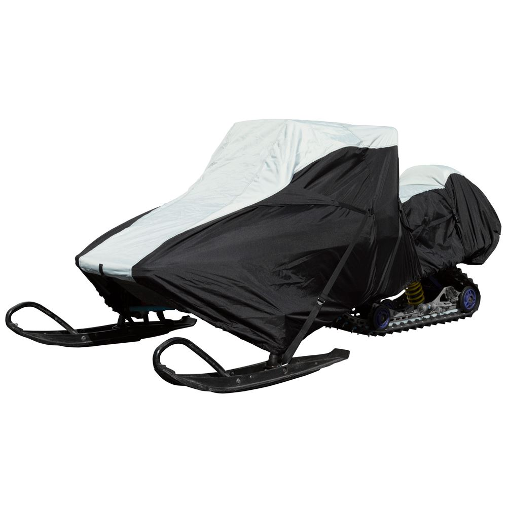 SNC-DLXT-B 114 to 125 Extreme Protection Trailer Travel Waterproof Snowmobile Cover