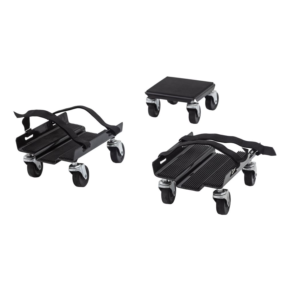 SNO-1503 Black Ice Snowmobile Dolly Set