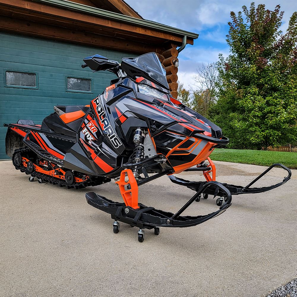 SNO-1503 Black Ice Snowmobile Dolly Set 1