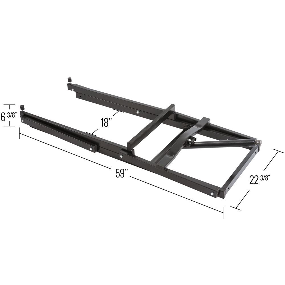 SNO-1508 Black Ice Snowmobile Lift - 700 lb Capacity 1