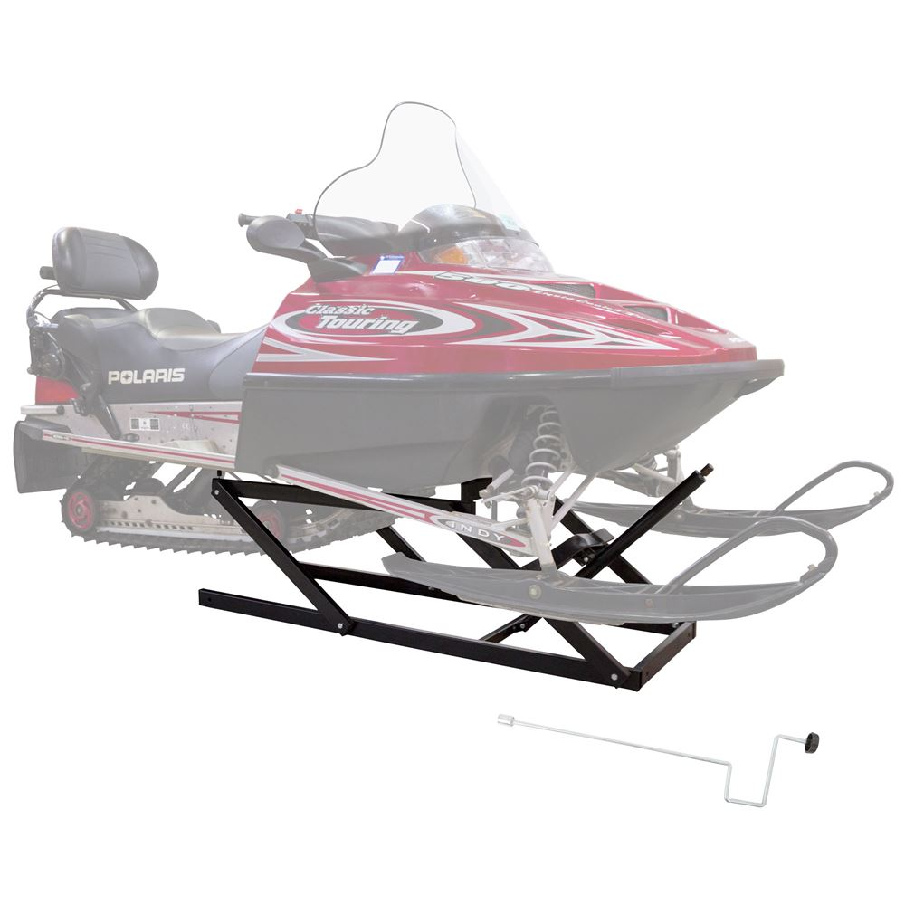 SNO-1508 Black Ice Snowmobile Lift - 700 lb Capacity 3
