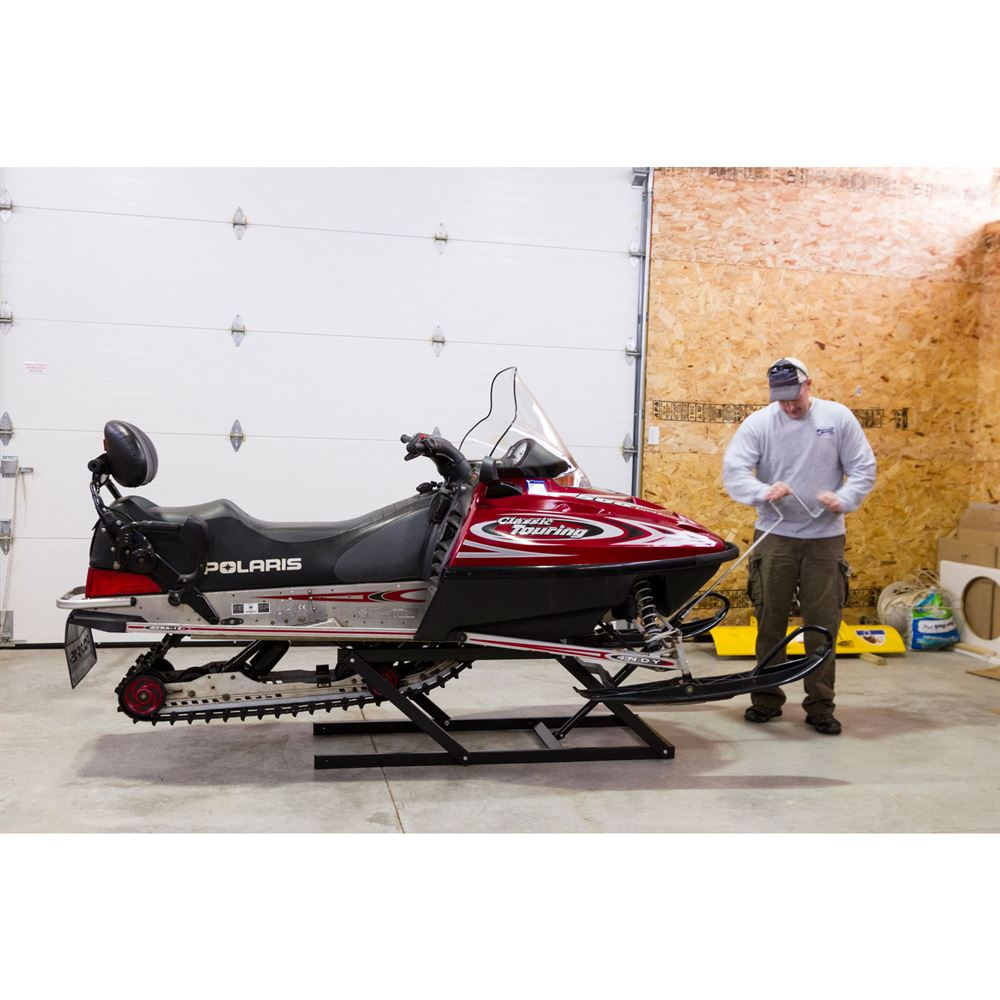 SNO-1508 Black Ice Snowmobile Lift - 700 lb Capacity 4