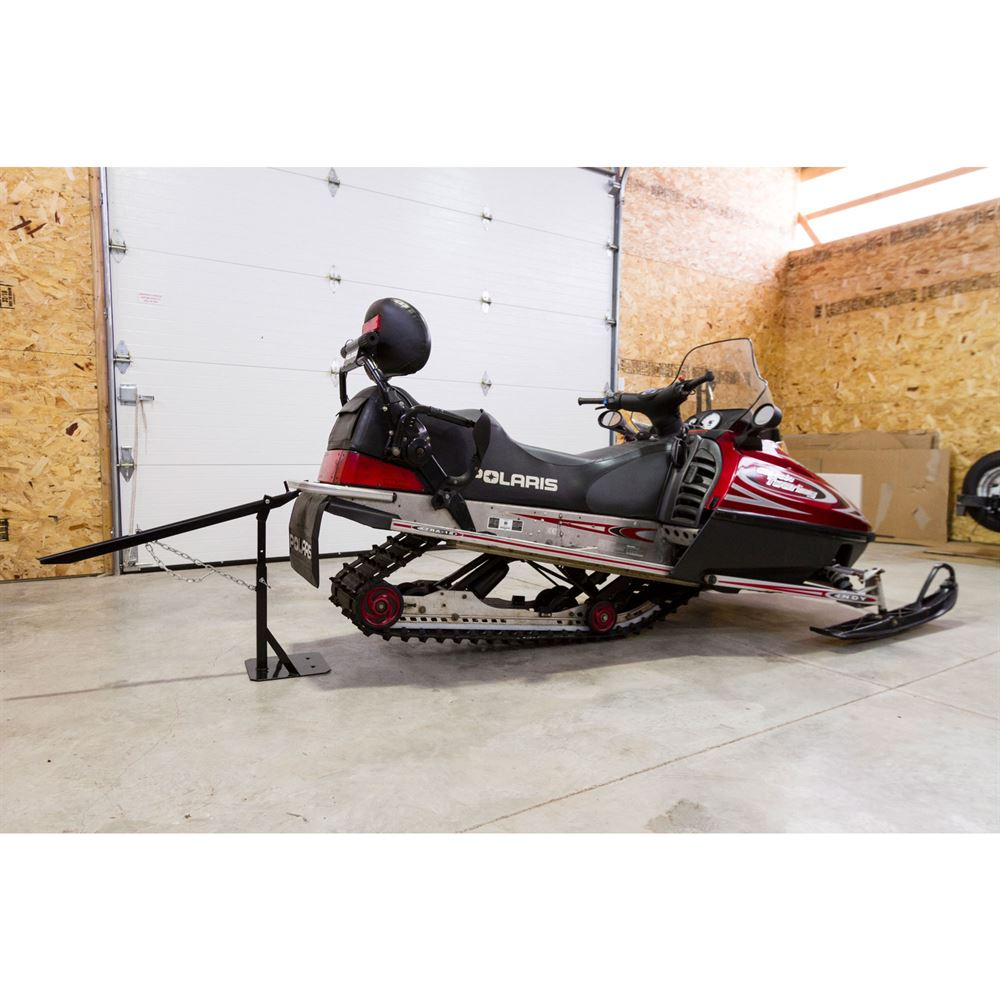 SNO-1511 Black Ice Snowmobile Track Stand and Lift 1