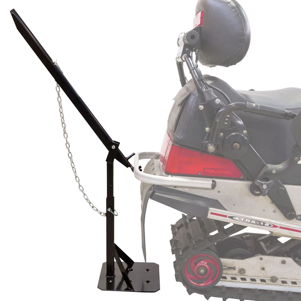 SNO-1511 Black Ice Snowmobile Track Stand and Lift 2