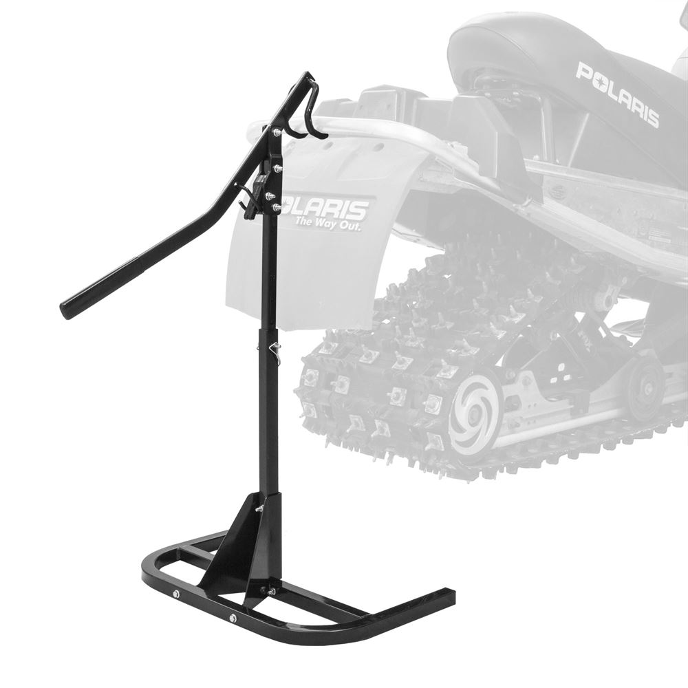 SNO-1512 Black Ice Heavy-Duty Snowmobile Track Stand and Lift