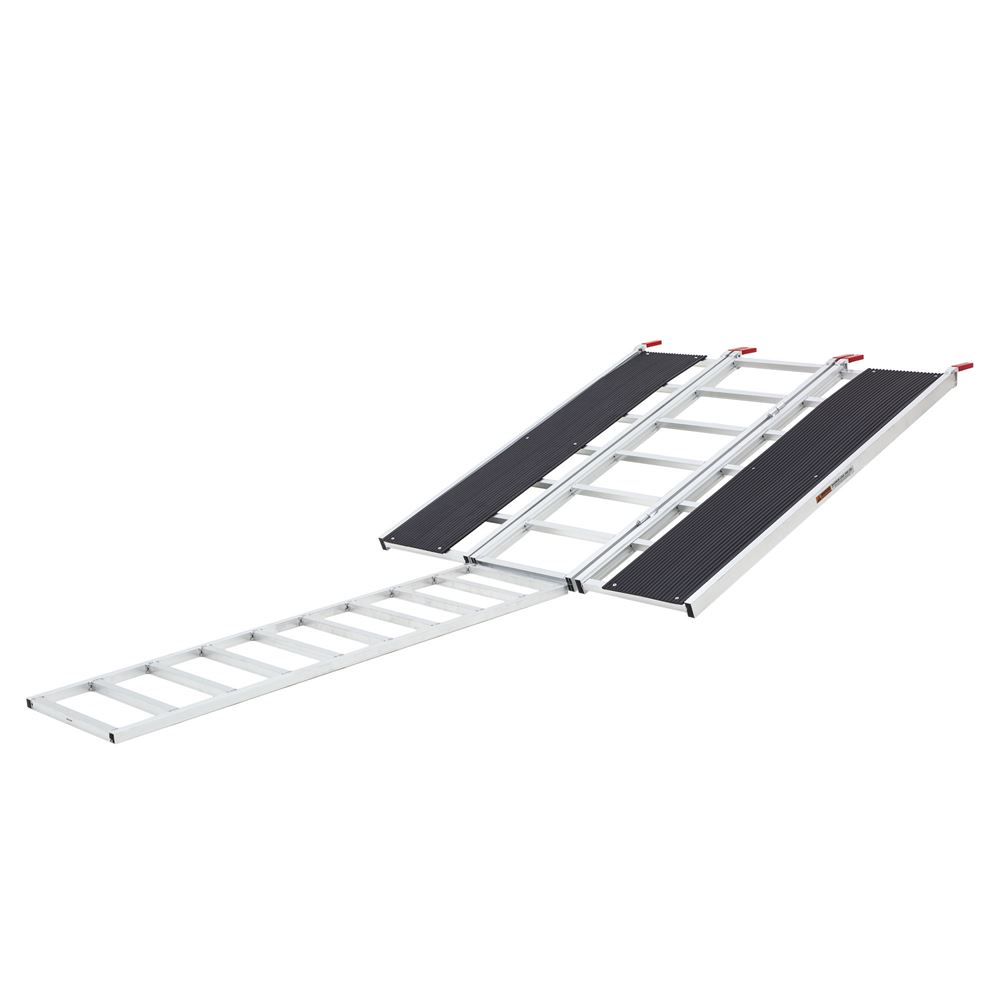 SNO-6054-HDXW-EXT Ramp Extension - Black Ice Tri-Fold Snowmobile Trailer Ramp - 5 L x 54 W