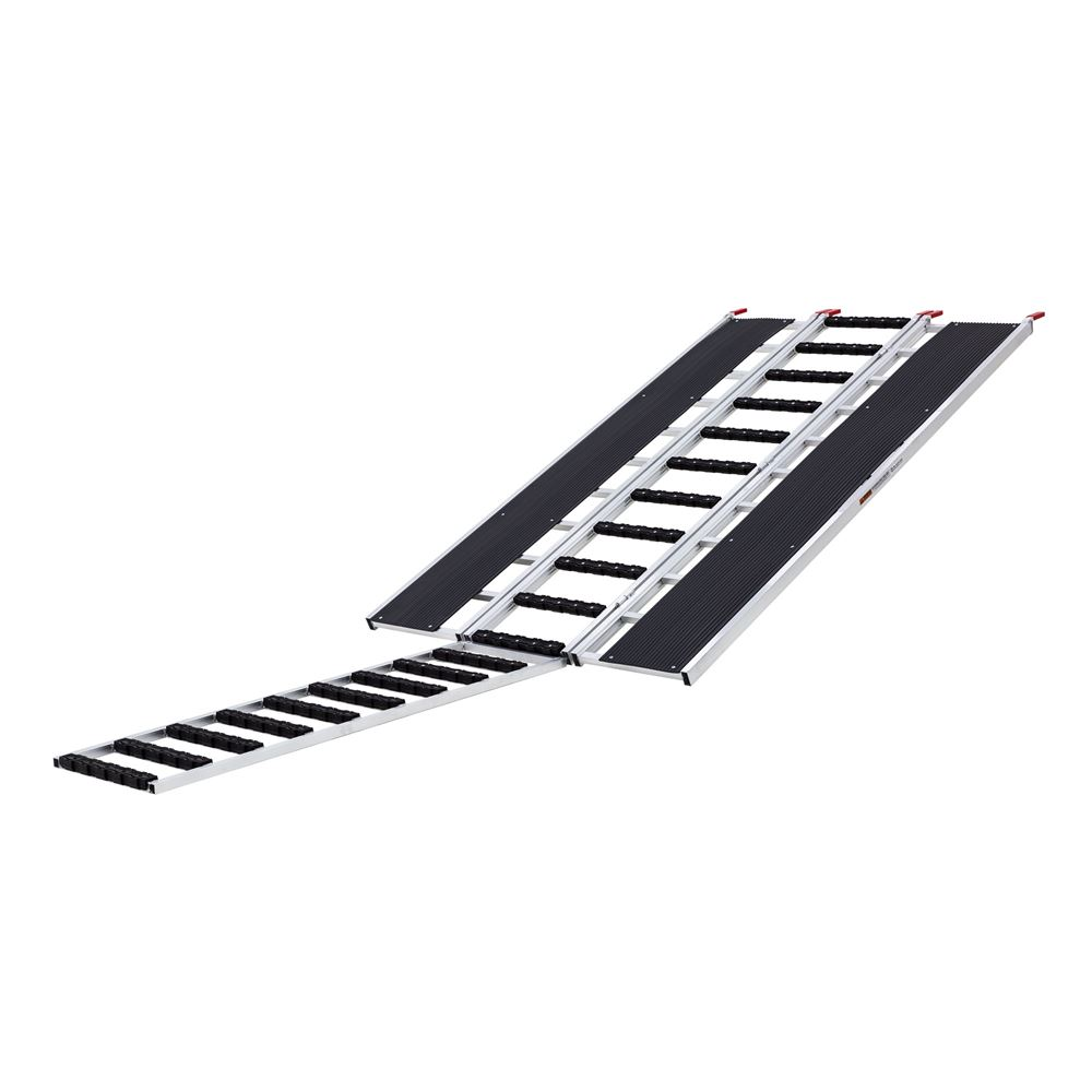 SNO-9454-HDXW-EXT-S Ramp Extension and Stud Protectors - Black Ice Tri-Fold Snowmobile and ATV Ramp - 7 10 Long x 54 Wide