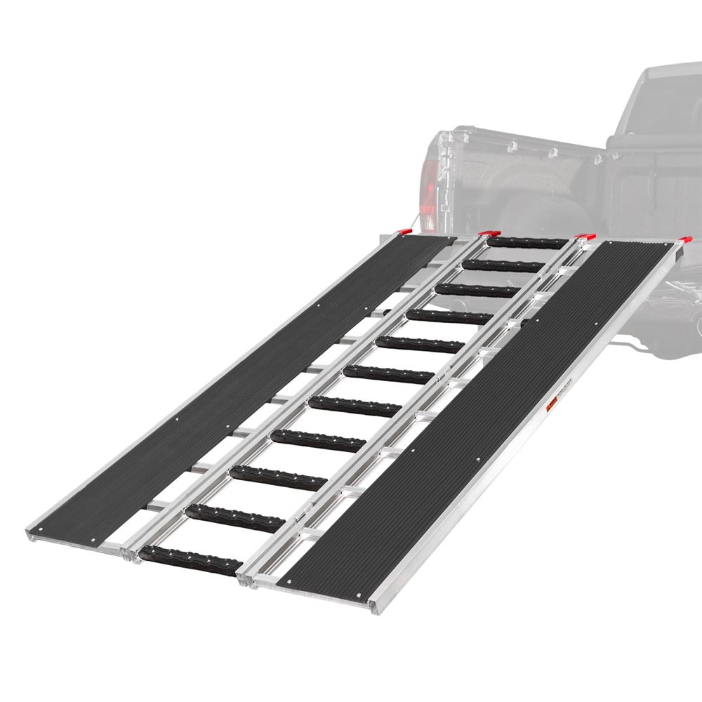 SNO-9454-HDXW-S Ramp and Stud Protectors - Black Ice Tri-Fold Snowmobile and ATV Ramp - 7 10 Long x 54 Wide