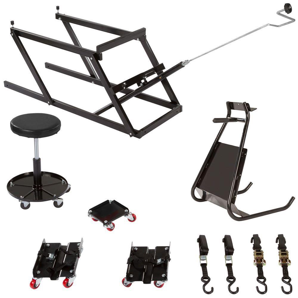 SNO-SK-E Black Ice Essential Snowmobile Shop Kit