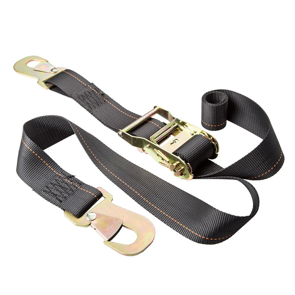 SNPRSTRAP2 2 x 6 Ratchet Strap Tie-Downs with Snap Hooks