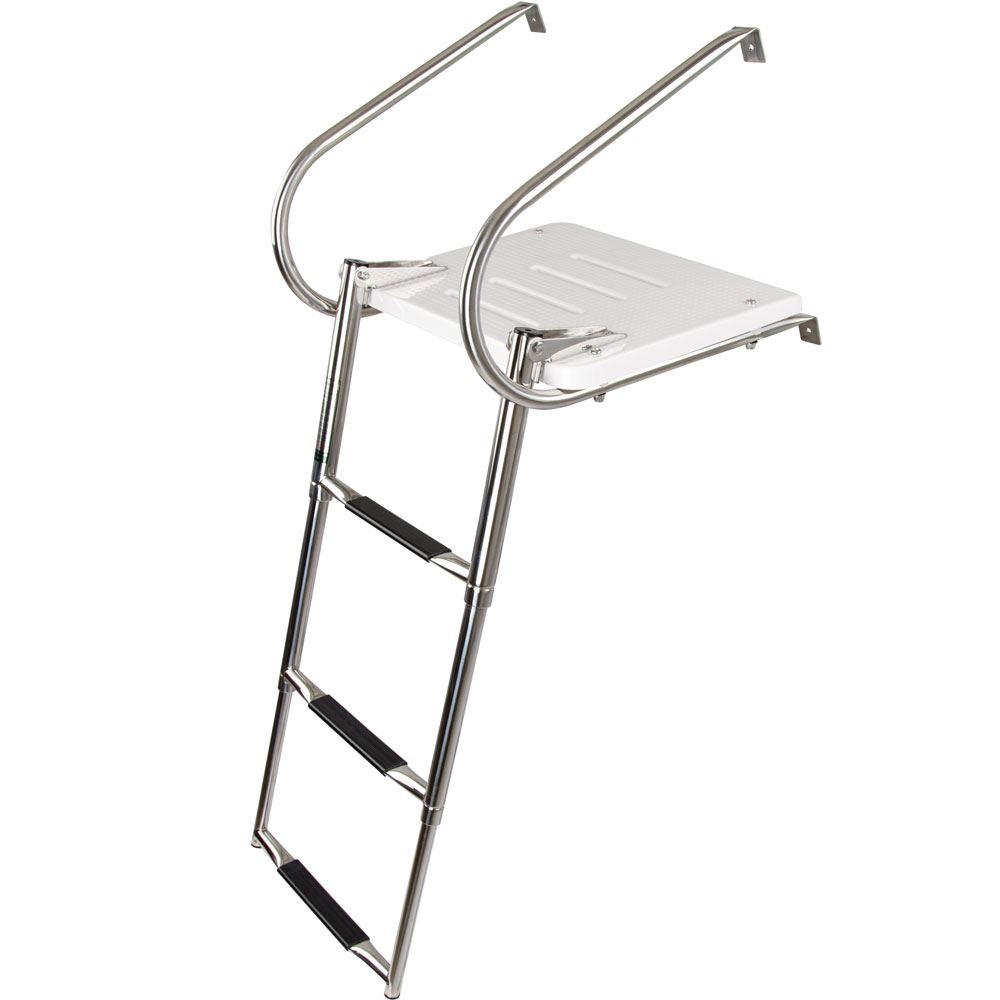 SP-3S 3-Step Harbor Mate Telescoping Boat Ladder