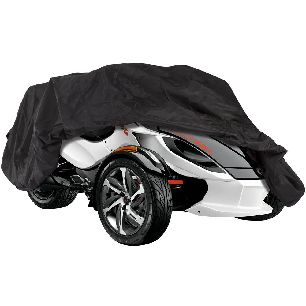 SPYDER-COVER-DLX Black Widow Deluxe Can-Am Spyder Cover