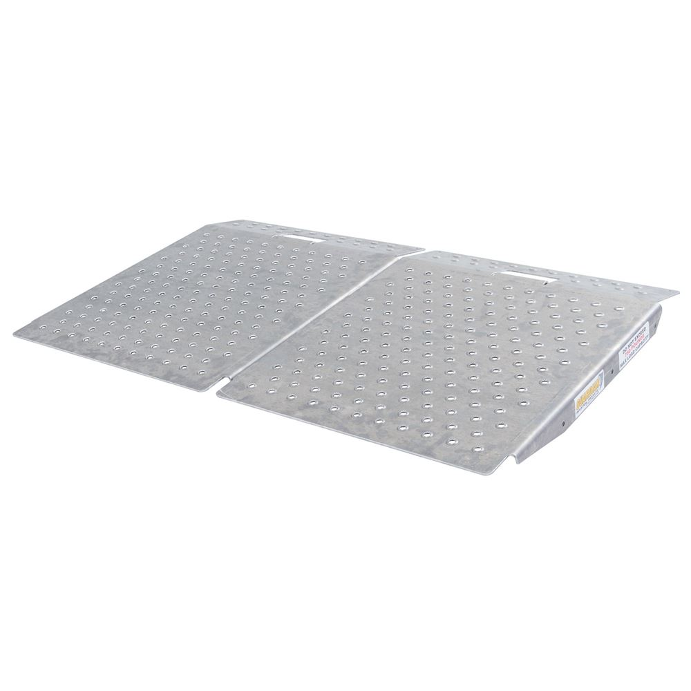 SR-01-24-24-P-TS6-2 Guardian Dual Shed Ramps with Punch Plate Surface