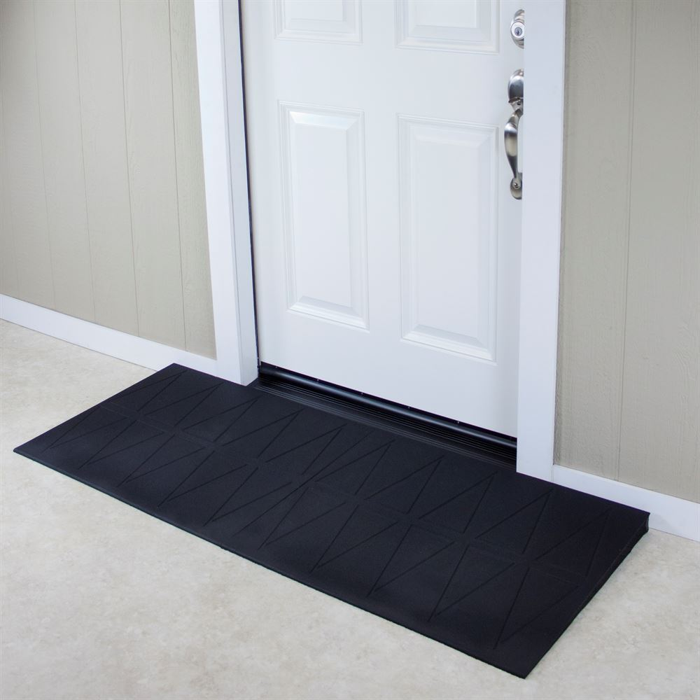 SRR2 SafePath SafeResidential Rubber Threshold Ramps - ADA Compliant