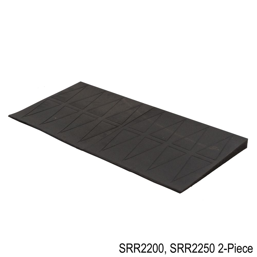SRR2 SafePath SafeResidential Rubber Threshold Ramps - ADA Compliant 1