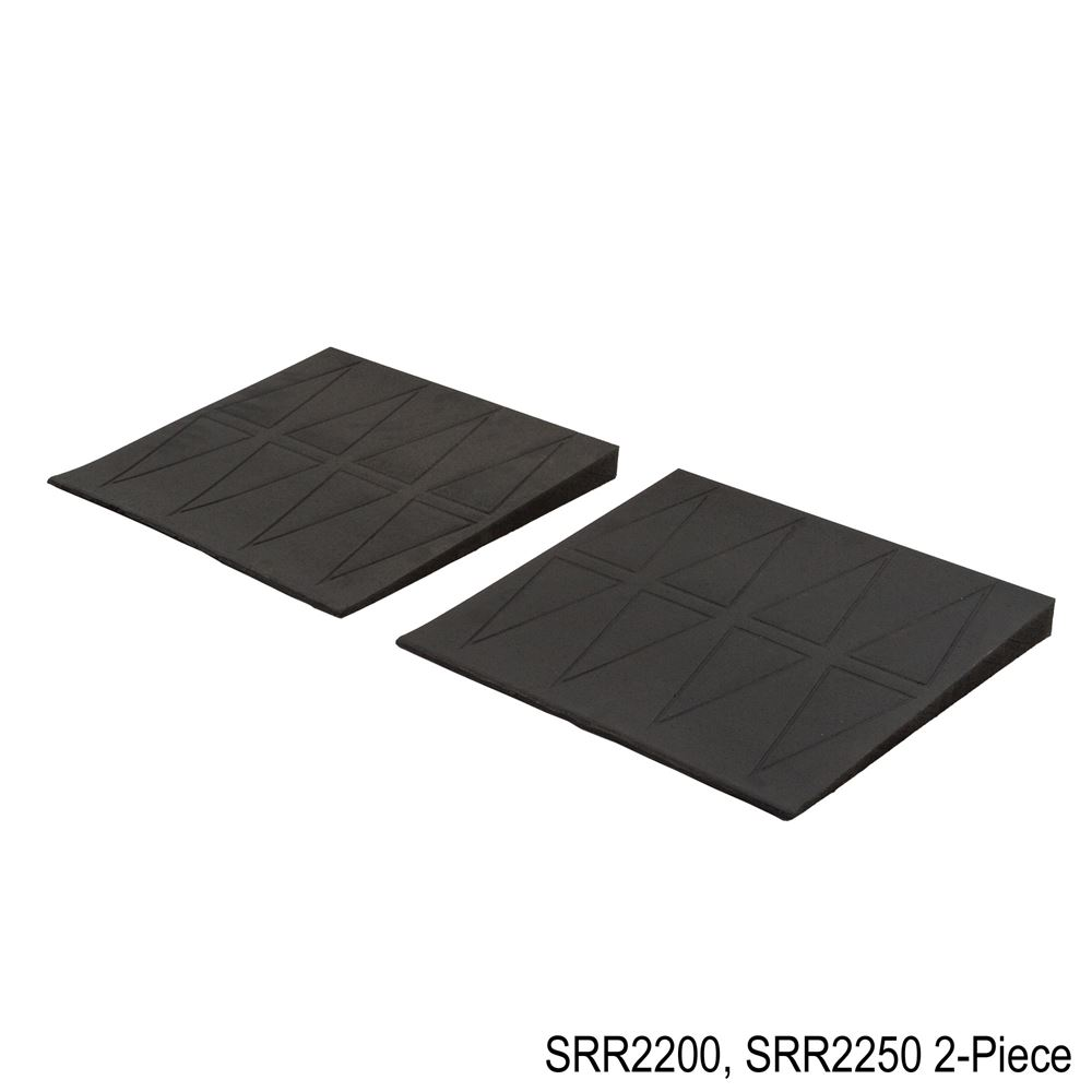 SRR2 SafePath SafeResidential Rubber Threshold Ramps - ADA Compliant 2