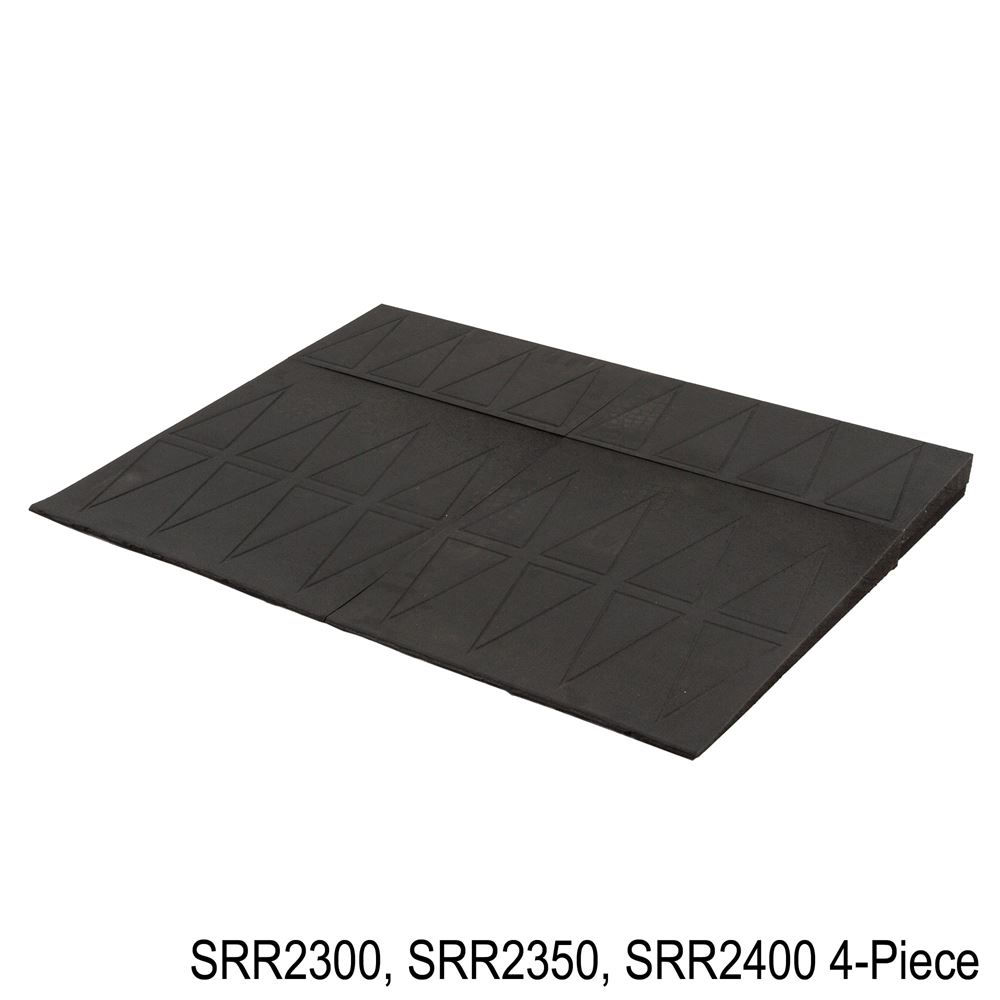 SRR2 SafePath SafeResidential Rubber Threshold Ramps - ADA Compliant 3