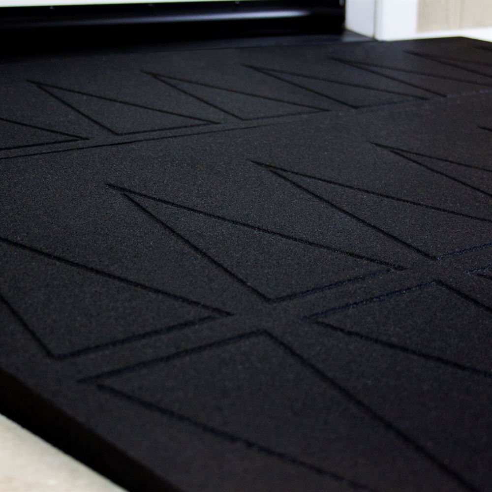 SRR2 SafePath SafeResidential Rubber Threshold Ramps - ADA Compliant 5