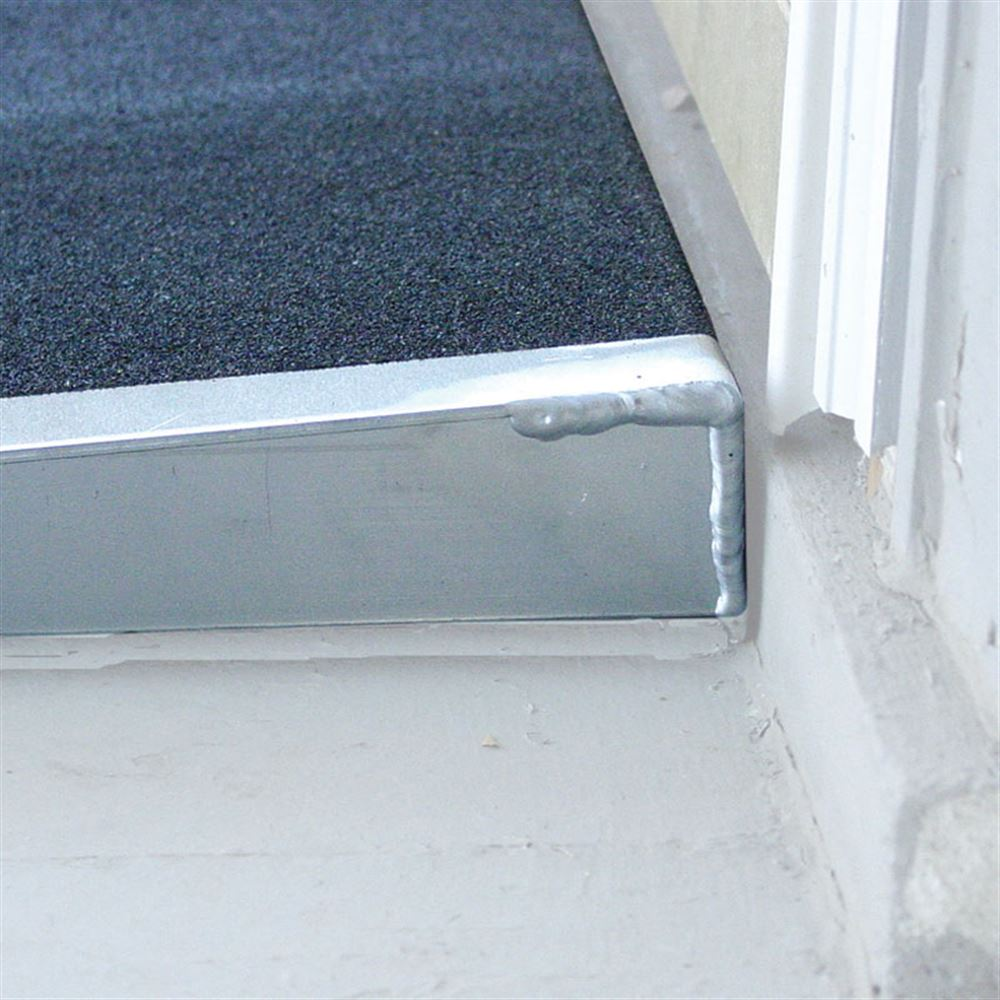 SSTH36 PVI Aluminum Solid Self-Supporting Threshold Ramp 1