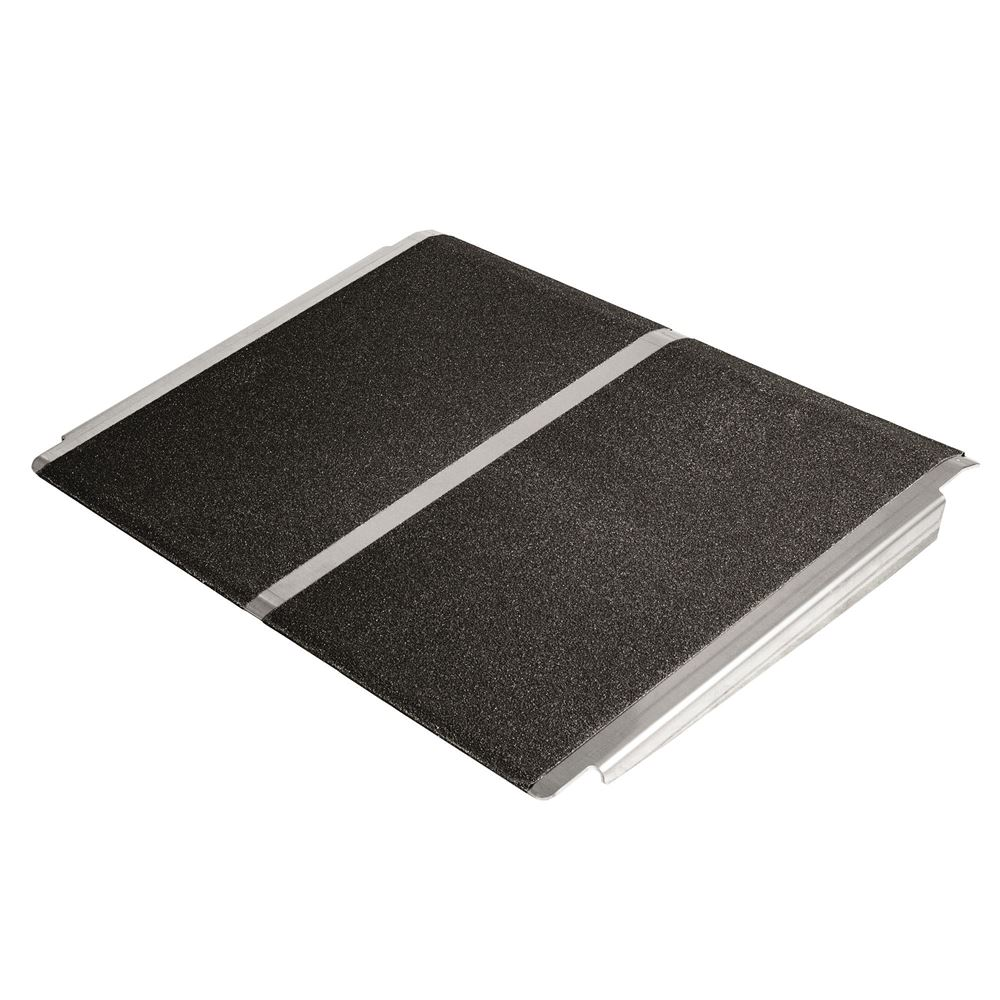 SSTP2432 24 x 32 Silver Spring Aluminum Solid Threshold Ramp