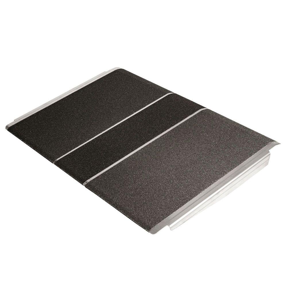 SSTP2436 24 x 36 Silver Spring Aluminum Solid Threshold Ramp