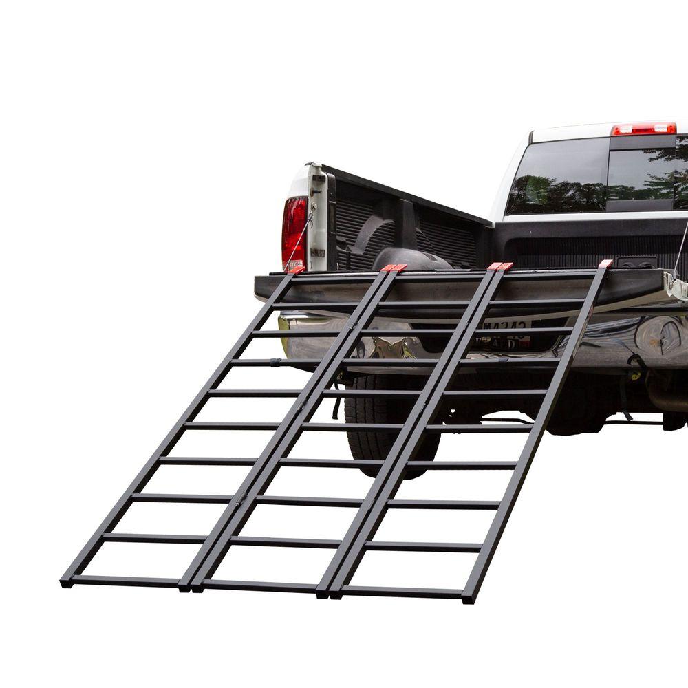 ST-TF-7449-V2 Black Widow Steel Tri-Fold ATV Ramp
