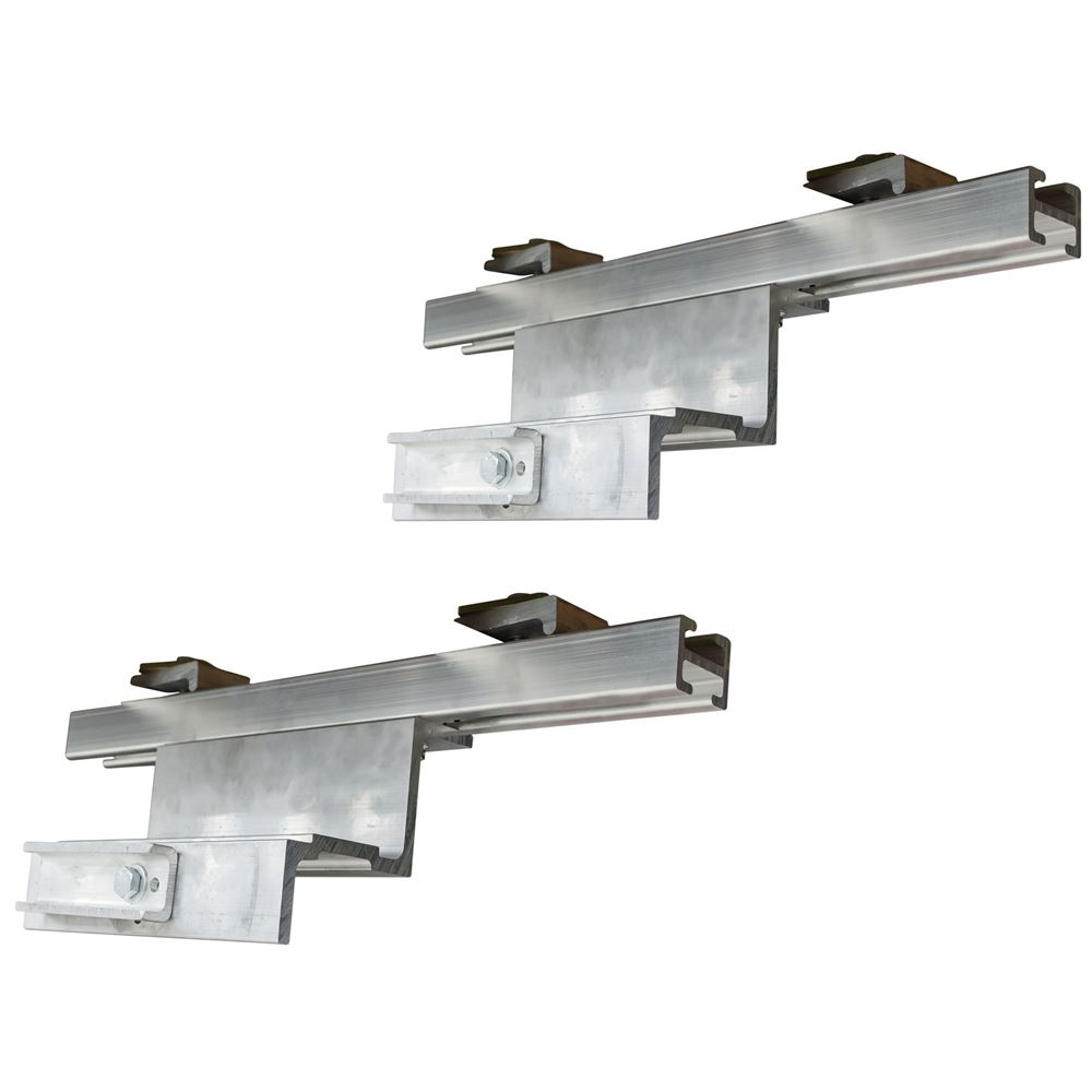 STAND-HANGERS-C Clamp-On Semi-Trailer Ramp Stand Storage Brackets