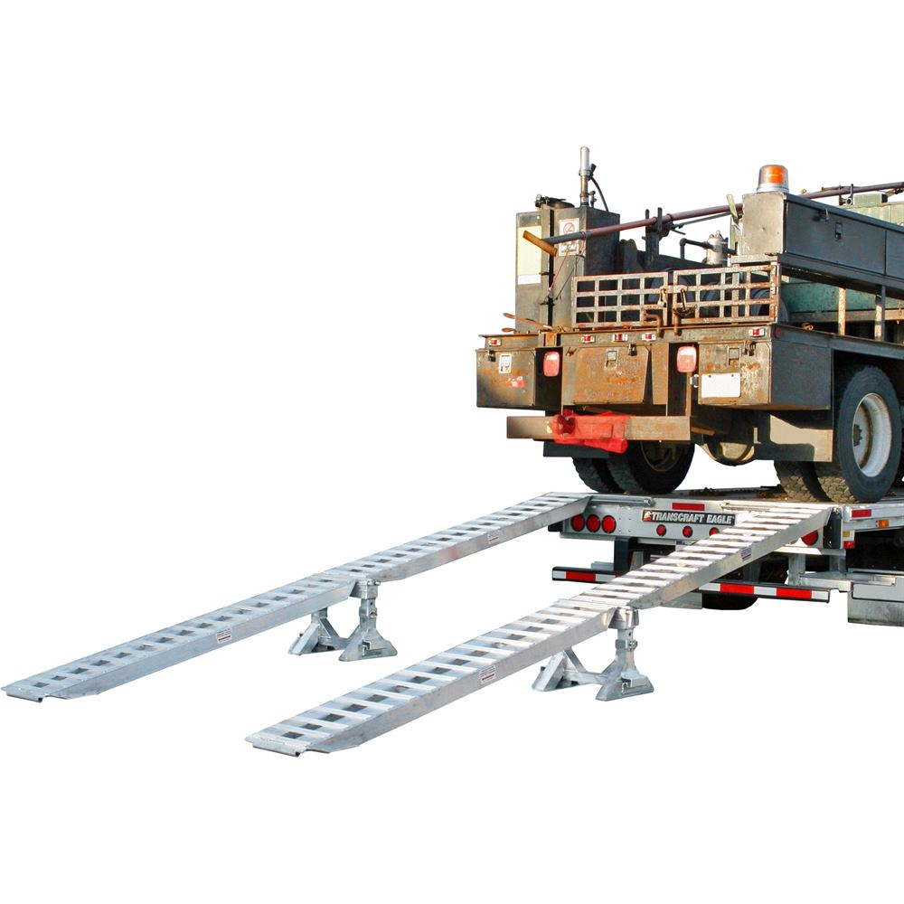 STEP-DECK-10K Modular Truck Trailer Ramp System - 10000-lb per axle Capacity