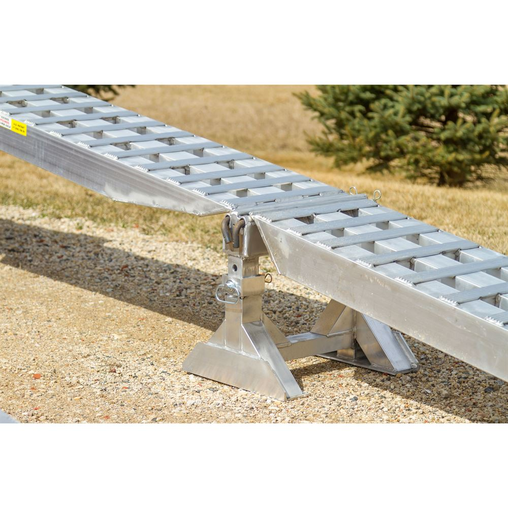 Modular ramp kit with load levelers for trailers with 26 for Cheap decking kits sale