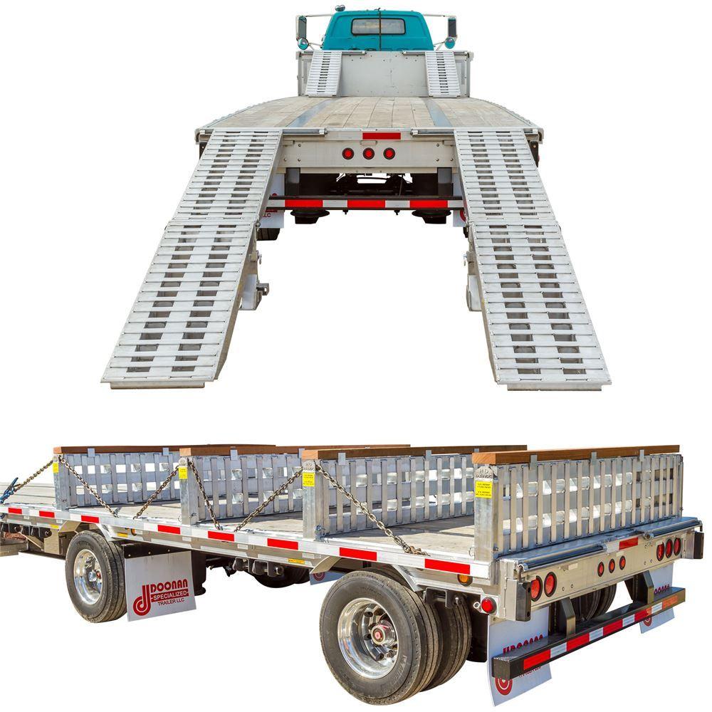 STEP-DECK-LL-KIT-COMPONENTS Step Deck Trailer Load Leveler Kit Components