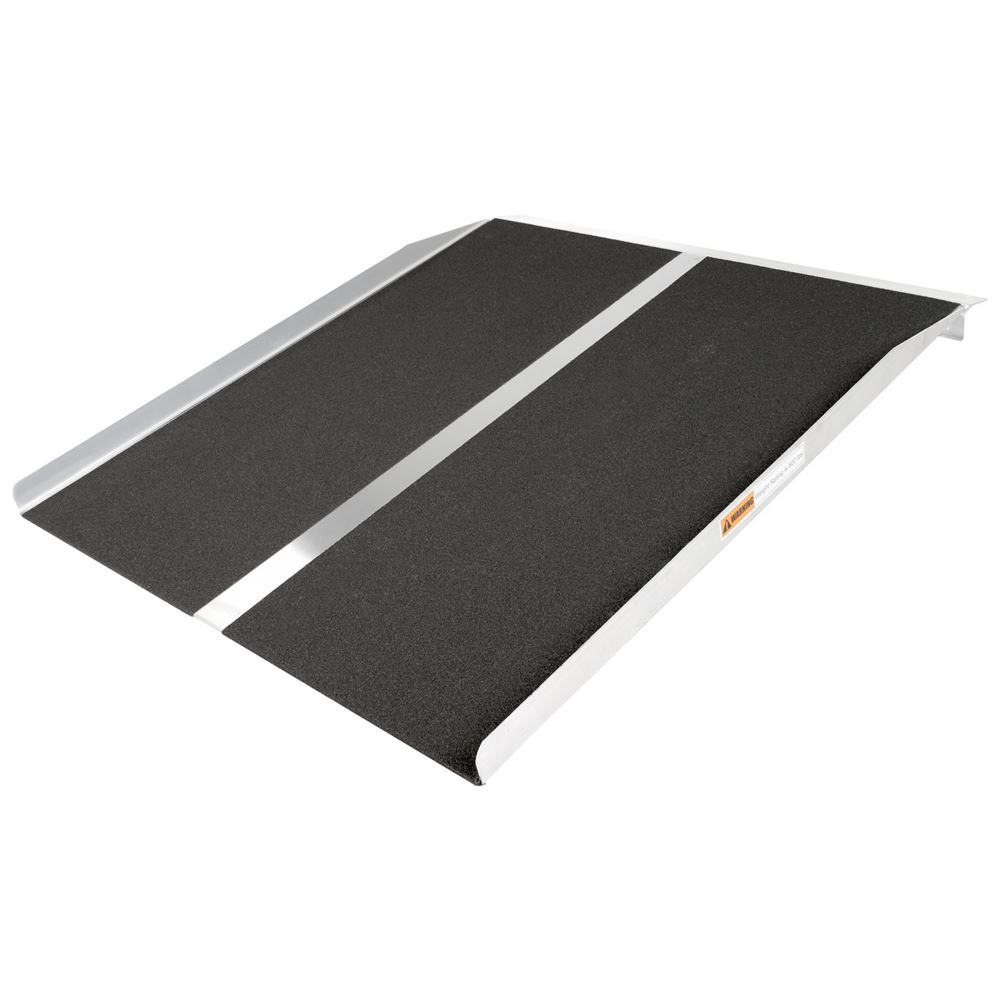 STR-330 3 L x 30 W Silver Spring Aluminum Solid Threshold Ramp