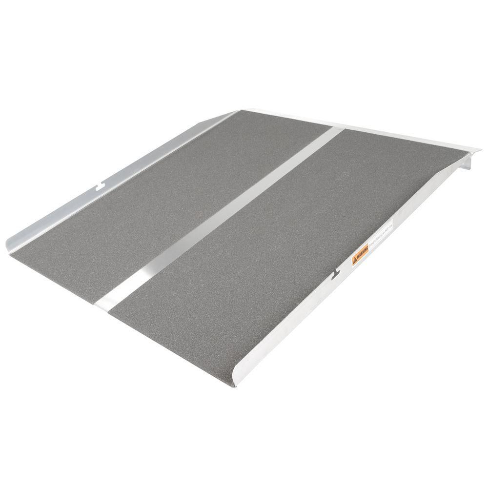 STR-330C 3 L x 30 W - Aluminum Solid Curb Ramp