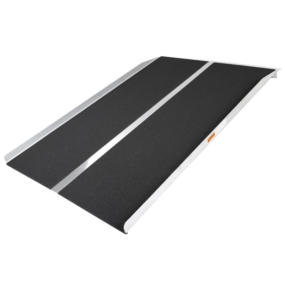 STR-430 4 L x 30 W Silver Spring Aluminum Solid Threshold Ramp