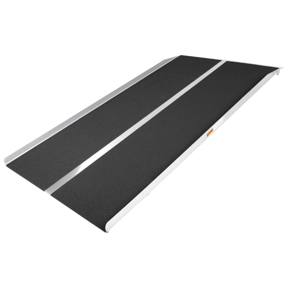STR-530 5 L x 30 W Silver Spring Aluminum Solid Threshold Ramp