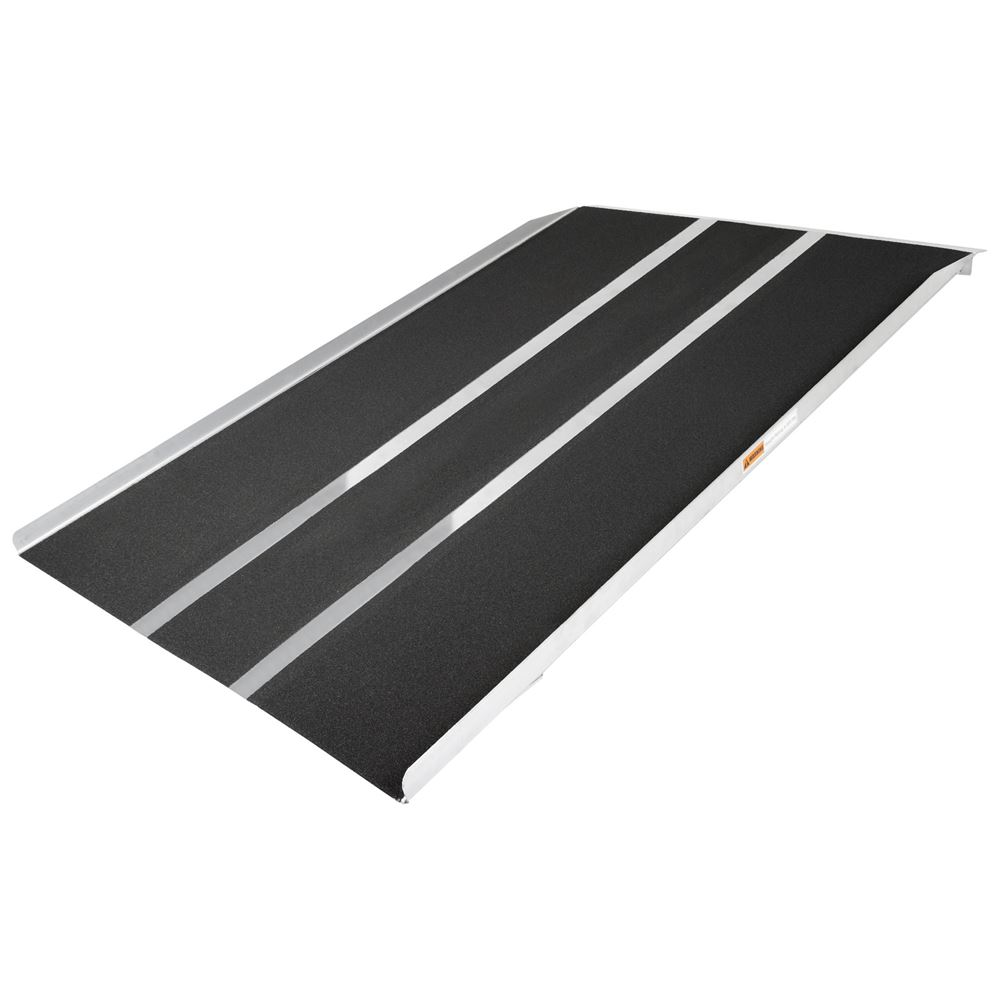 STR-536 5 L x 36 W Silver Spring Aluminum Solid Threshold Ramp
