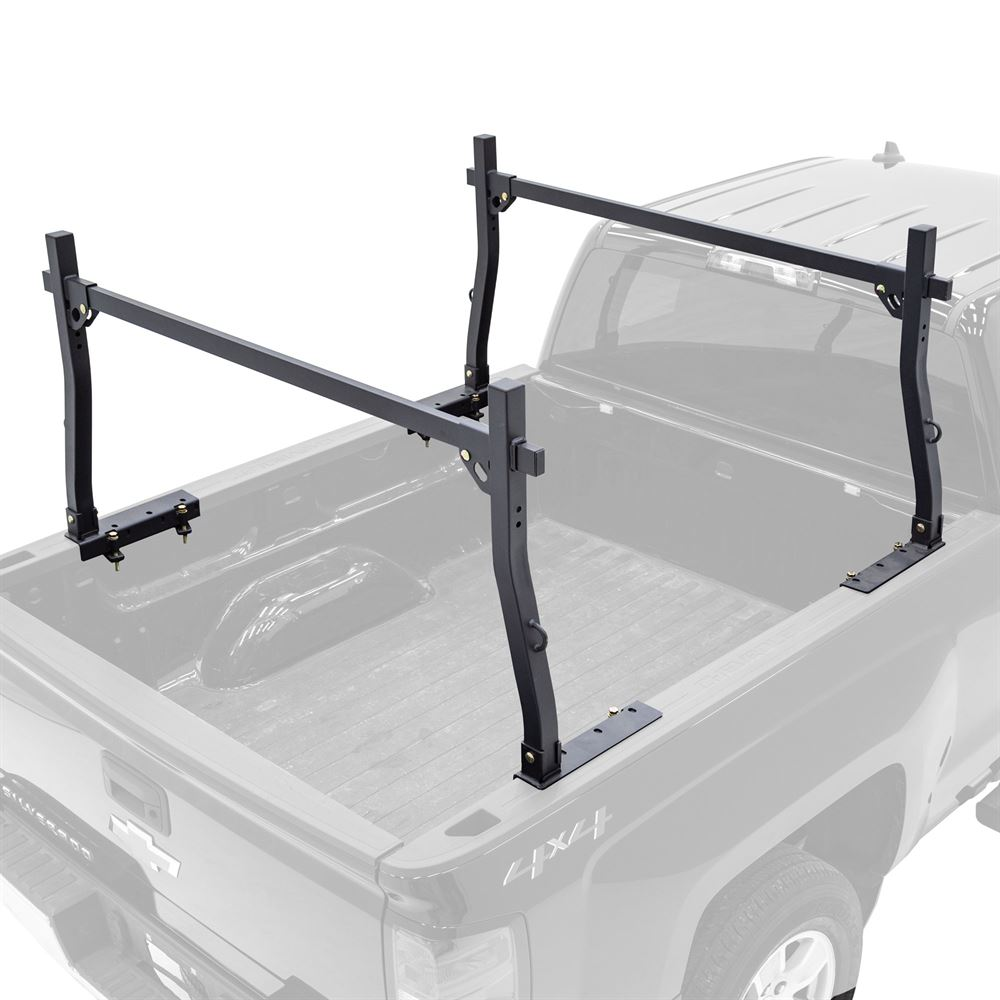 Apex No-Drill Steel Truck Rack with D-Loops