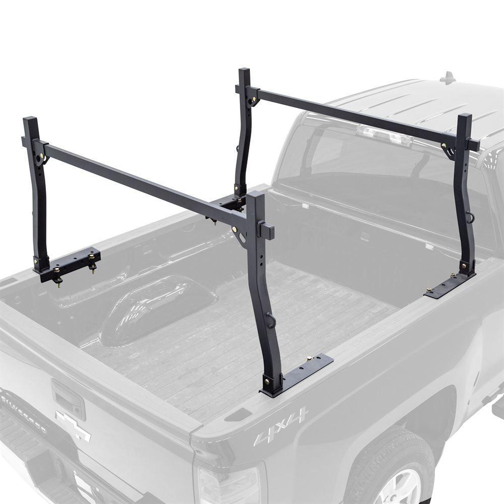 STR-RACK-V2 Elevate Outdoor Steel Universal Heavy-Duty Truck Rack  1000-lb Capacity