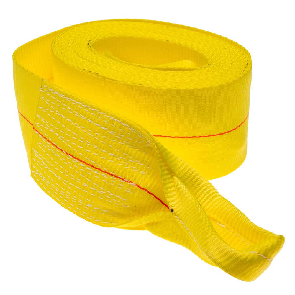 STRAP-REC-30 Single 4 x 30 Heavy-Duty Recovery Tow Strap with Loop Ends