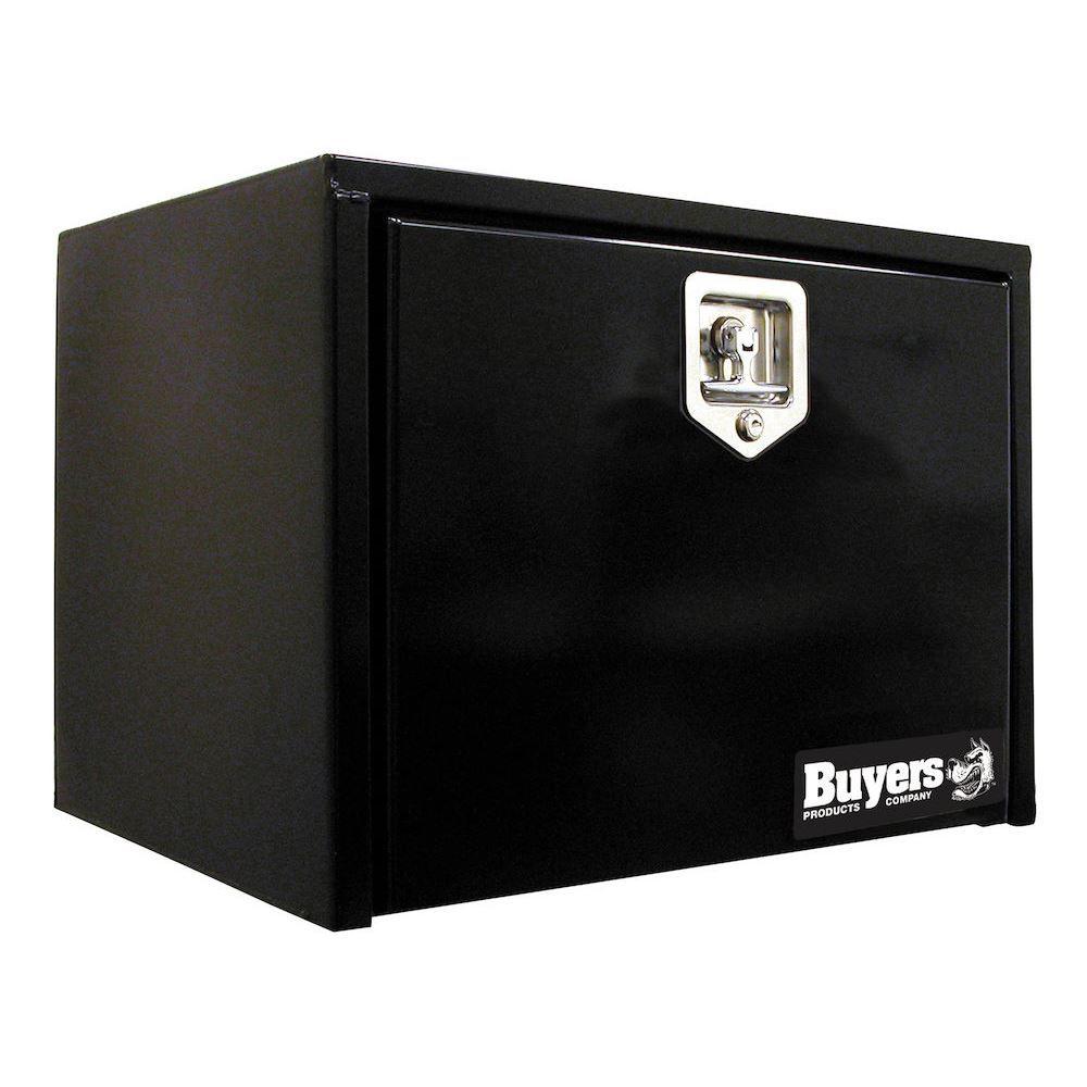 SUDDTHL Buyers Products Steel Drop Door Underbody Toolbox with T-Handle Latch