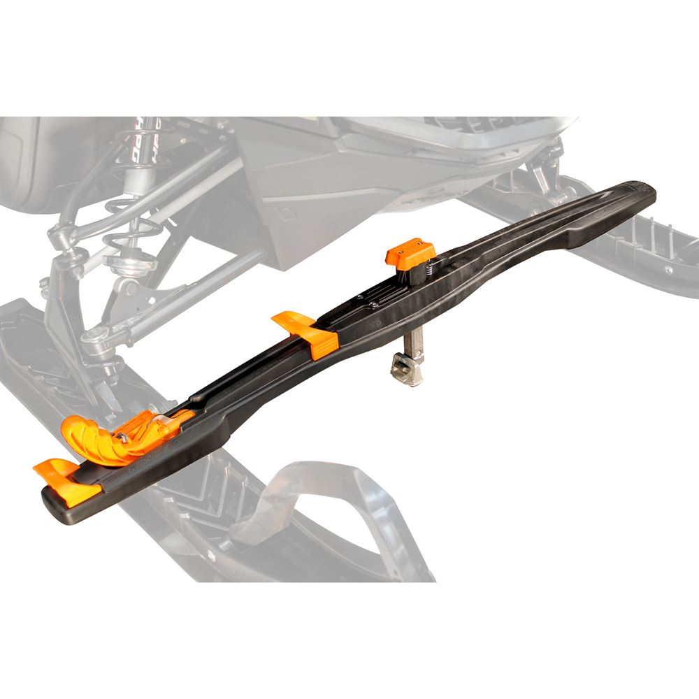 SUPERCLAMP-FRONT Superclamp II The Best Snowmobile Tie-Down System in the Industry
