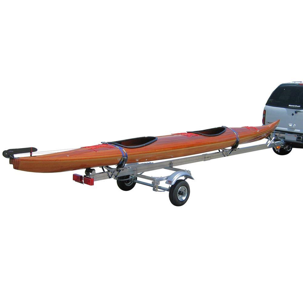 SUT-350-S Single Kayak or Canoe Trailer - Fits Hulls 17 - 22 Long